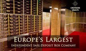 safe deposit box Croydon