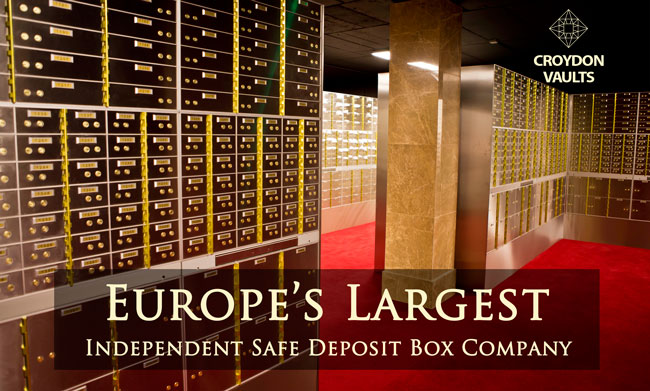 safe deposit box Croydon